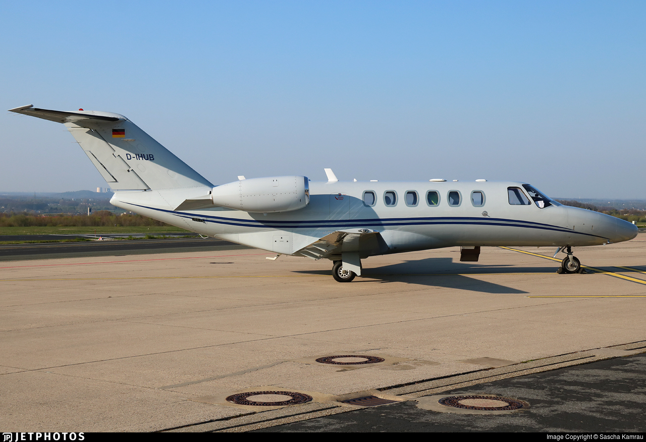 D-IHUB - Cessna 525A CitationJet CJ2 - Private