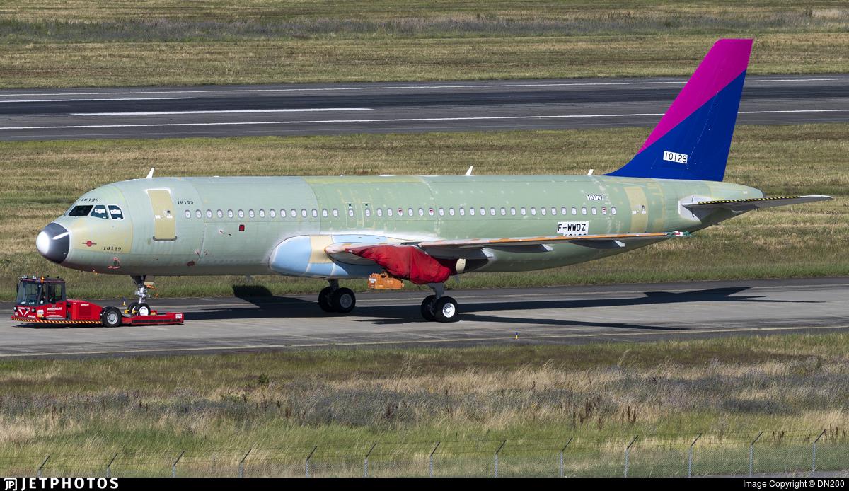 F-WWDZ - Airbus A320-271N - Airbus Industrie