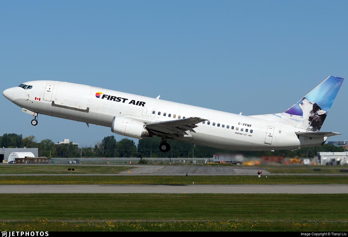 C-FFNF - Boeing 737-406 - First Air