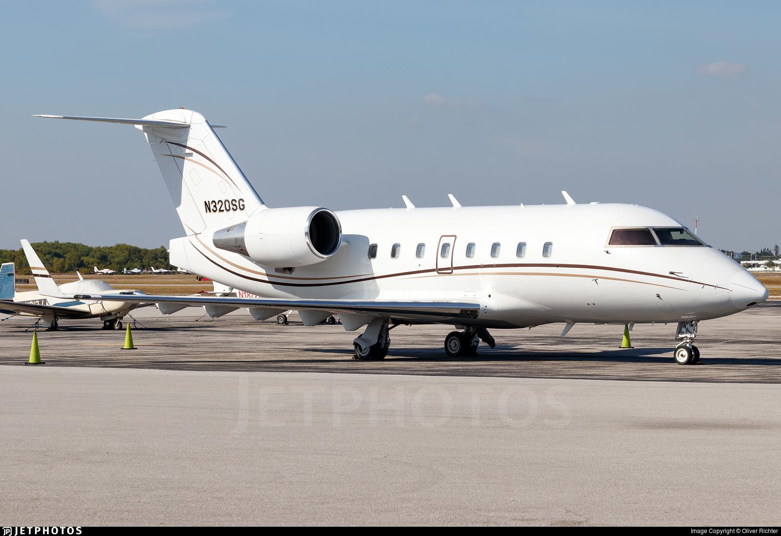 N320SG - Bombardier CL-600-2B16 Challenger 601 - Aerocraft International