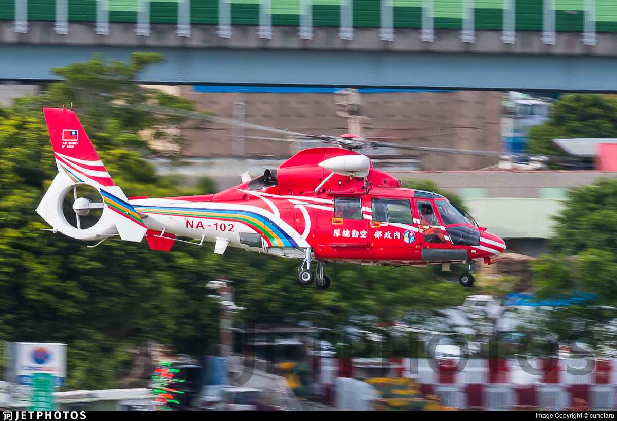 NA-102 - Aérospatiale SA 365N2 Dauphin 2 - Taiwan - National Airborne Service Corps (NASC)