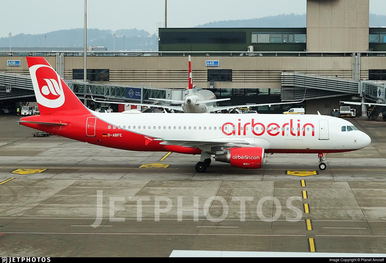 D-ABFE - Airbus A320-214 - Air Berlin