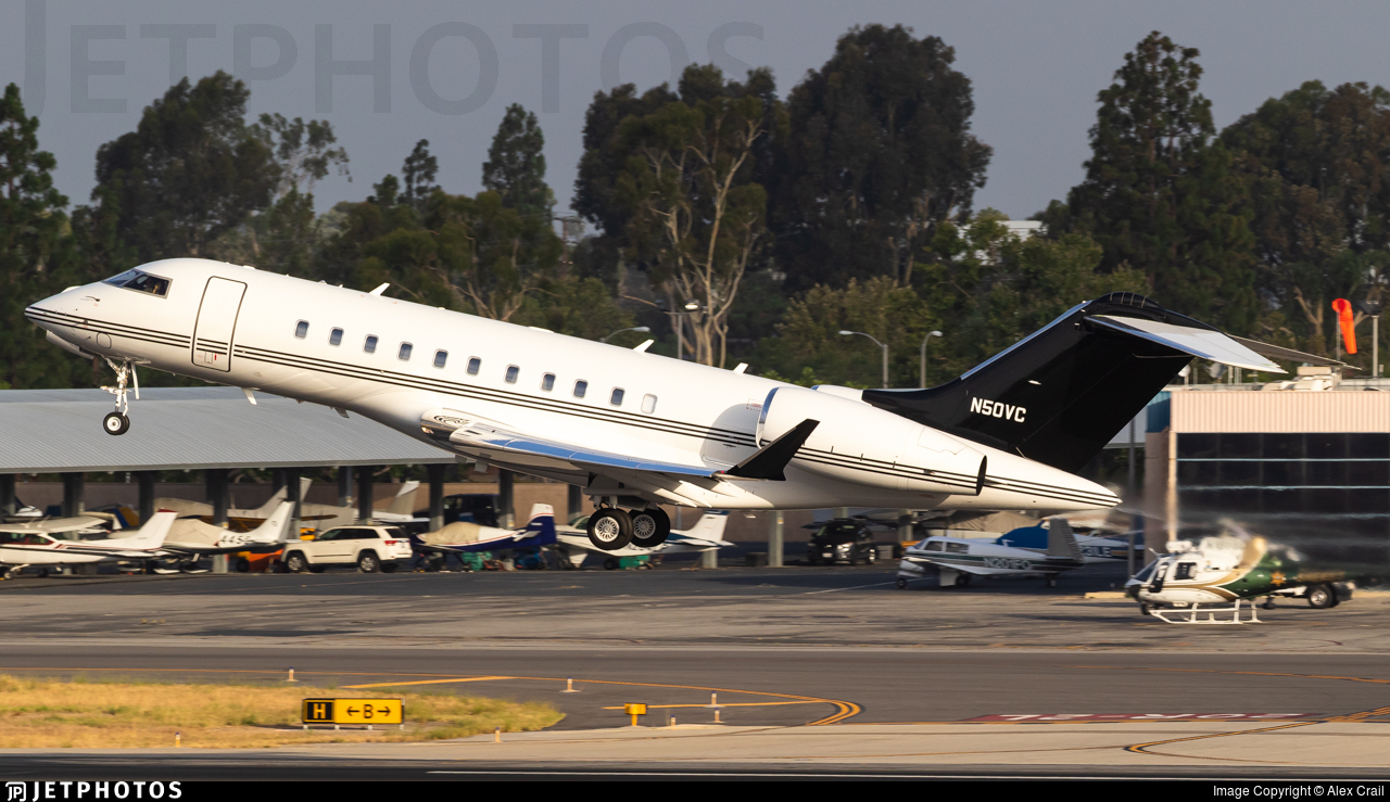 N50VC - Bombardier BD-700-1A11 Global 5000 - Private