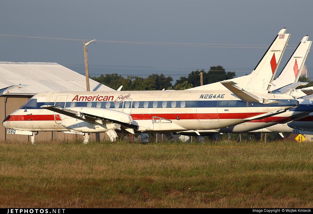 N264AE - Saab 340B - American Eagle (Envoy Air)