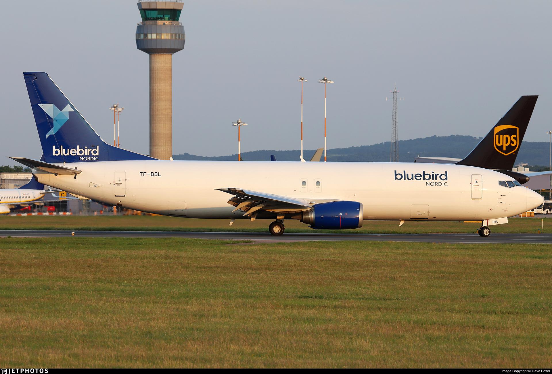 TF-BBL - Boeing 737-490(SF) - Bluebird Cargo