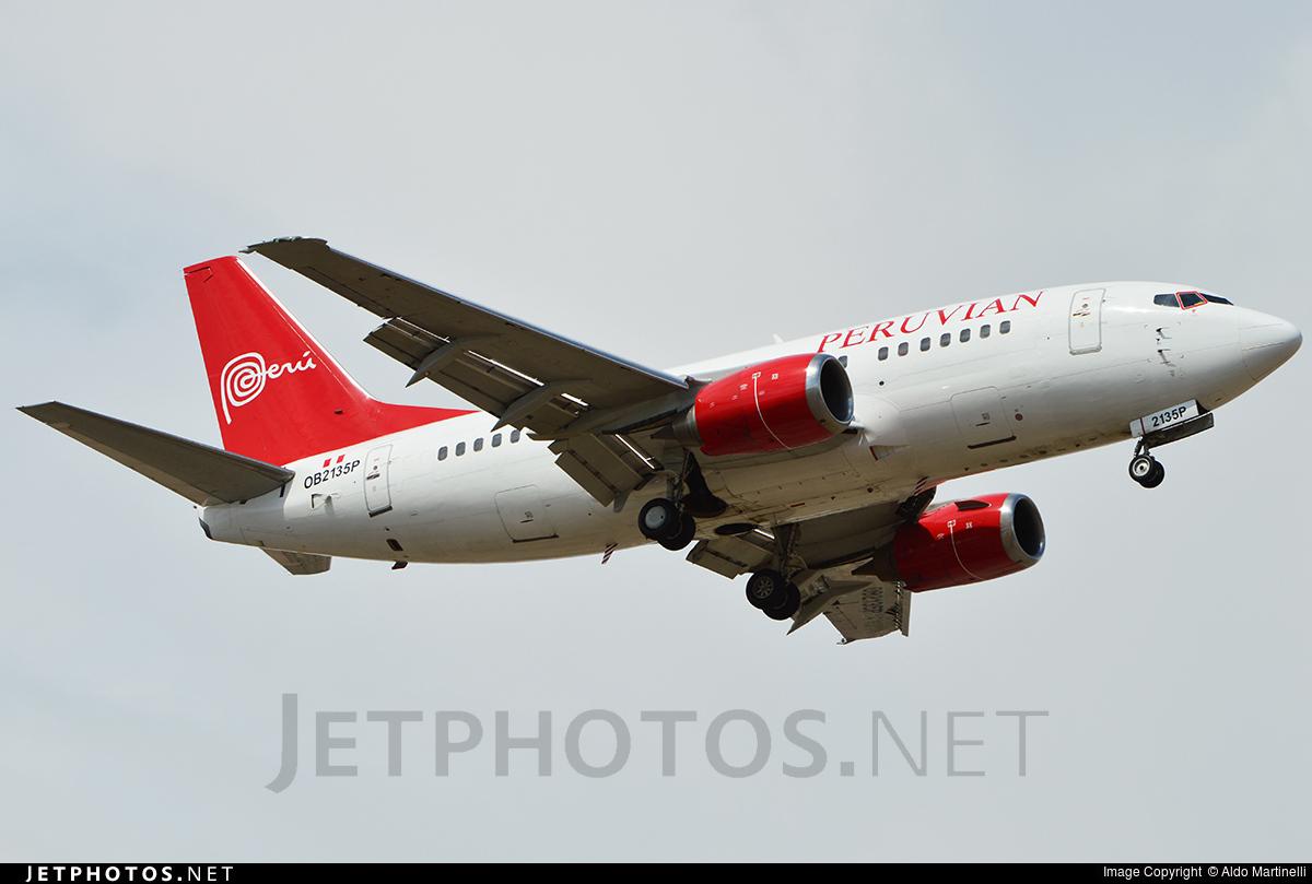 OB-2135-P - Boeing 737-530 - Peruvian Airlines