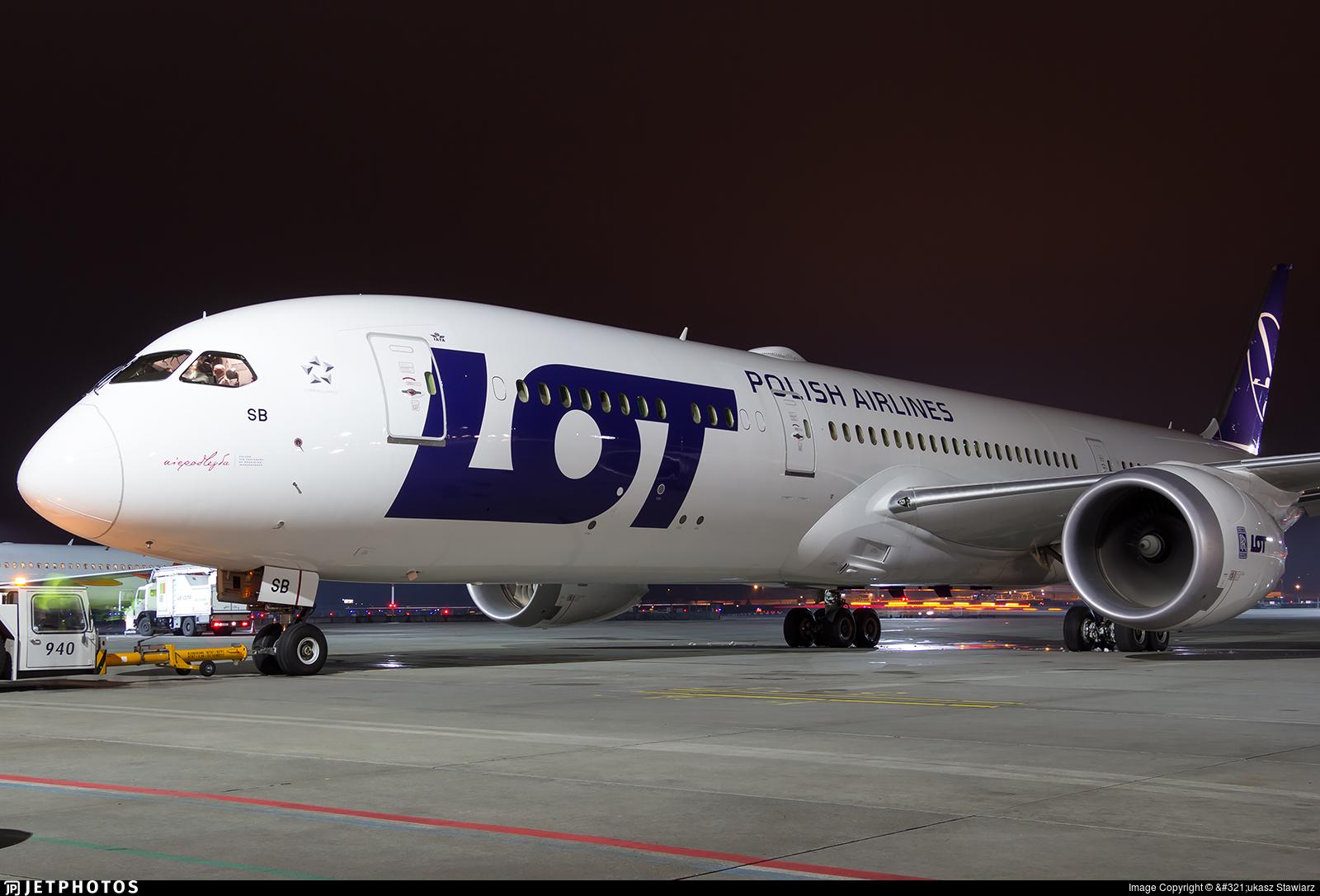 SP-LSB - Boeing 787-9 Dreamliner - LOT Polish Airlines