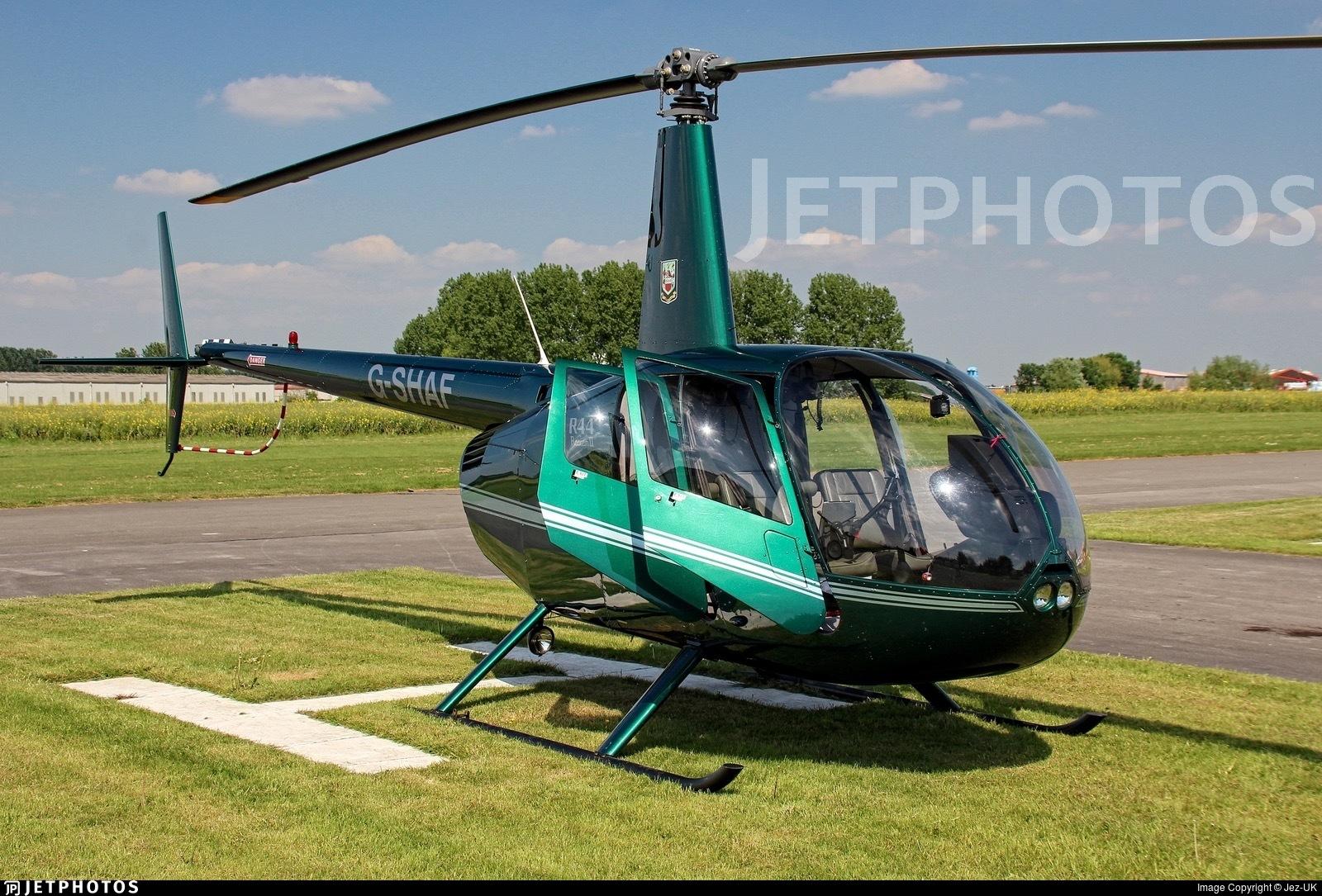 G-SHAF - Robinson R44 Raven II - Private