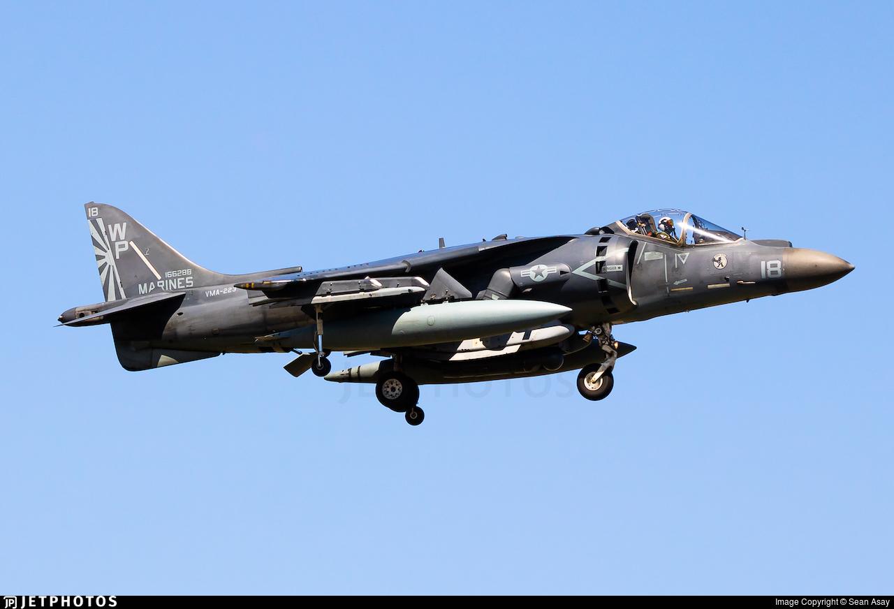 166288 - McDonnell Douglas AV-8B+ Harrier II - United States - US Marine Corps (USMC)