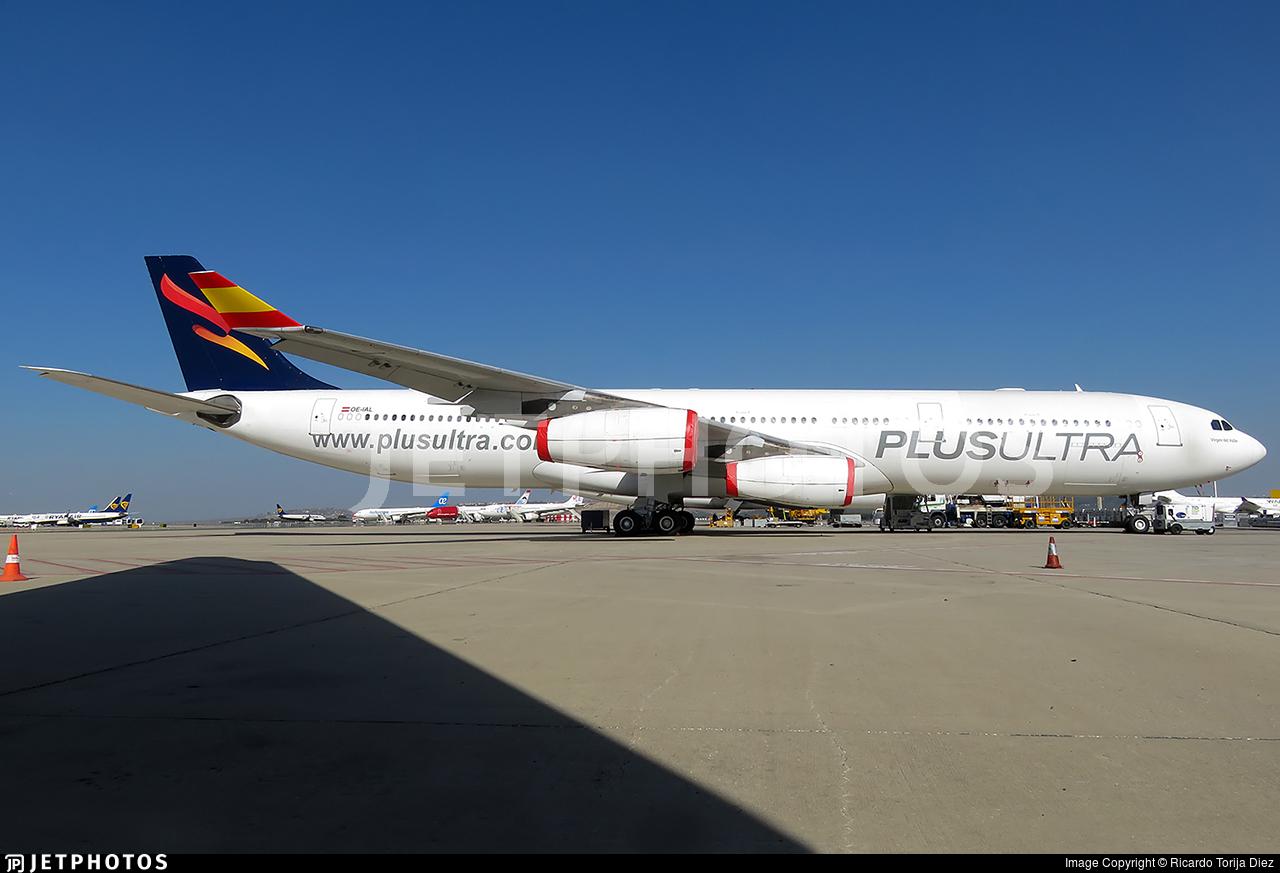 OE-IAL - Airbus A340-313X - Plus Ultra Líneas Aéreas