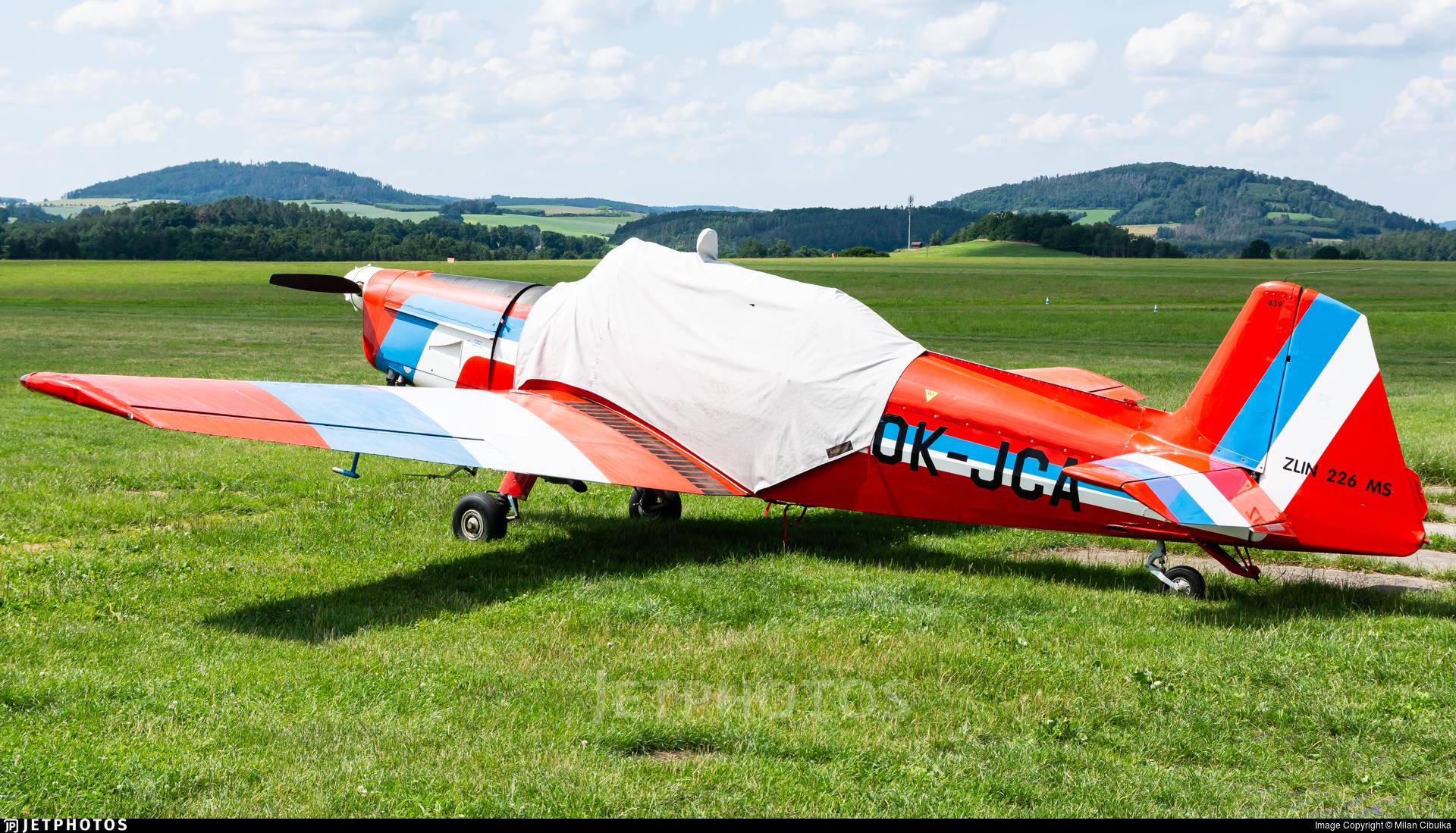 OK-JCA - Zlin 226MS - Private