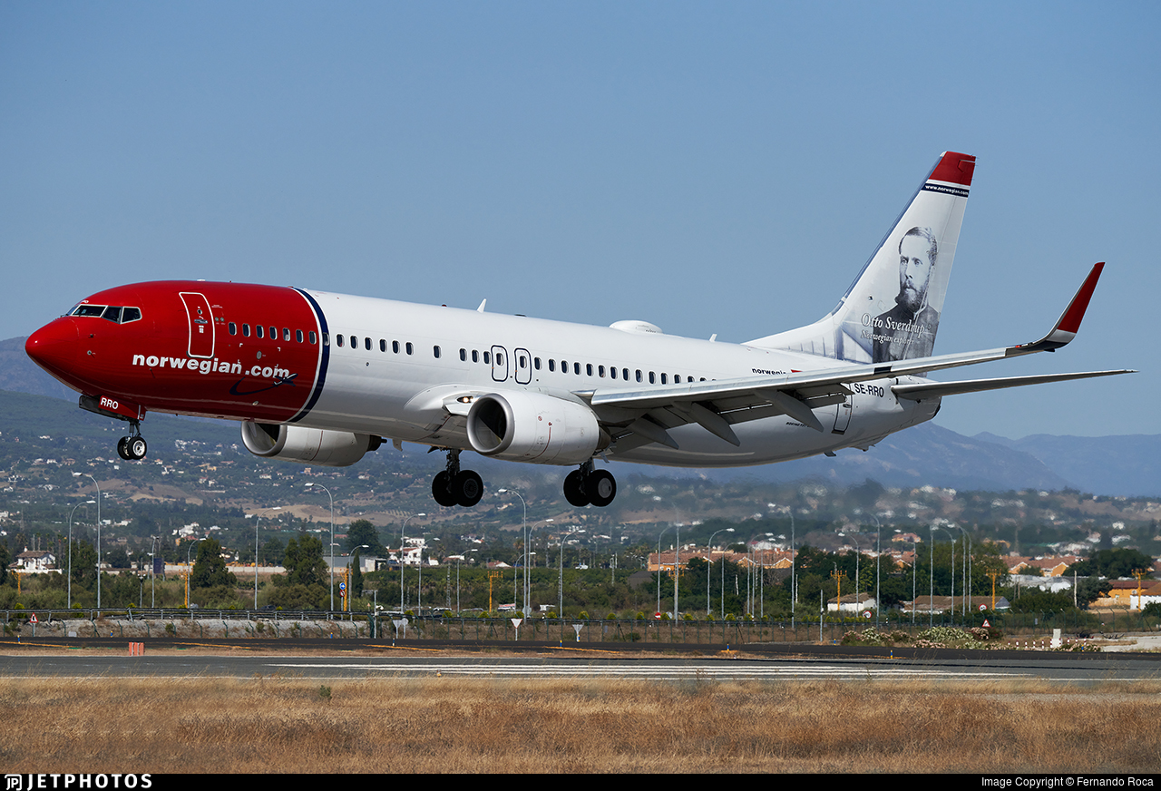 SE-RRO - Boeing 737-8JP - Norwegian