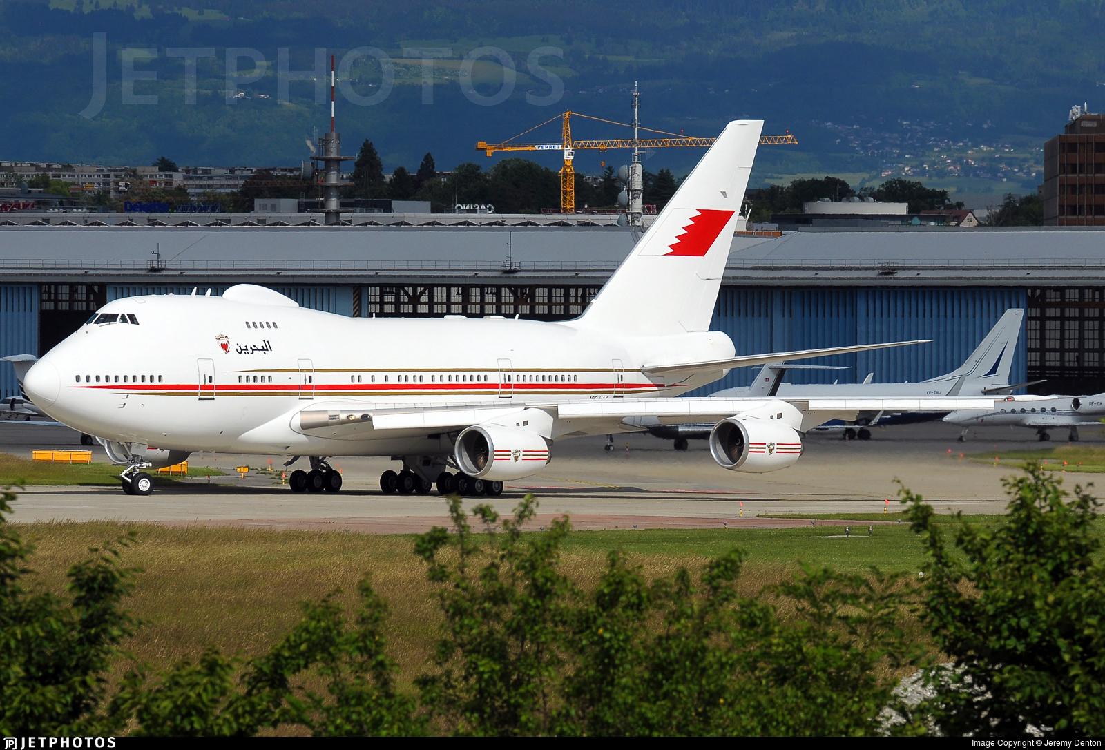 A9C-HAK - Boeing 747SP-Z5 - Bahrain - Royal Flight