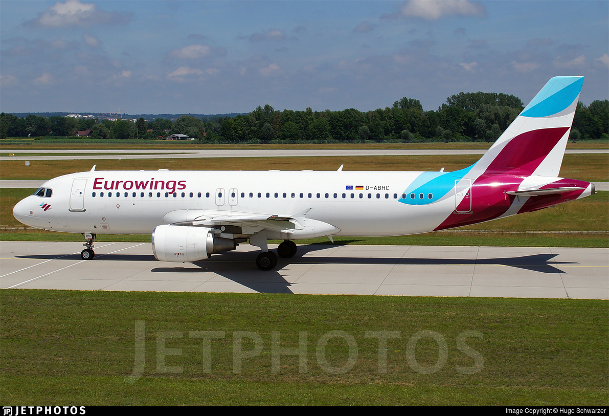 D-ABHC - Airbus A320-214 - Eurowings