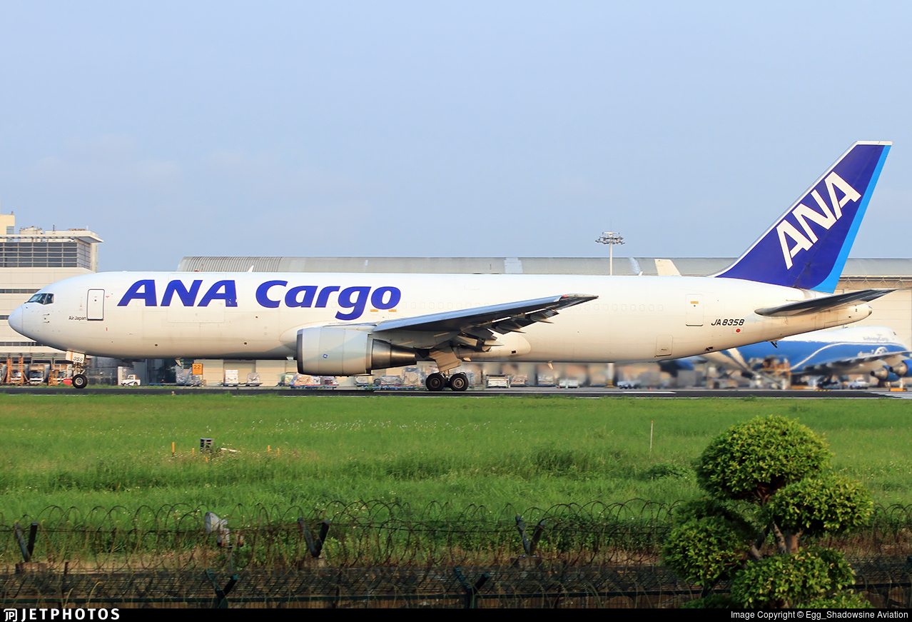 JA8358 - Boeing 767-381(ER)(BCF)  - ANA Cargo