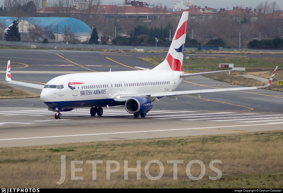 TC-JGJ - Boeing 737-8F2 - British Airways (Comair)