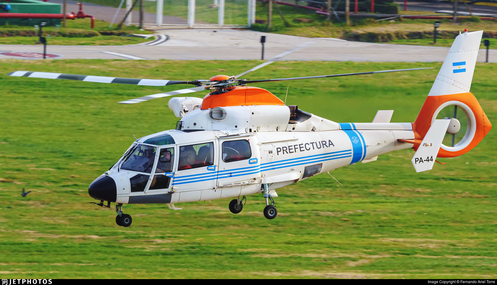PA-44 - Airbus Helicopters AS365 N3+ Dauphin - Argentina - Prefectura