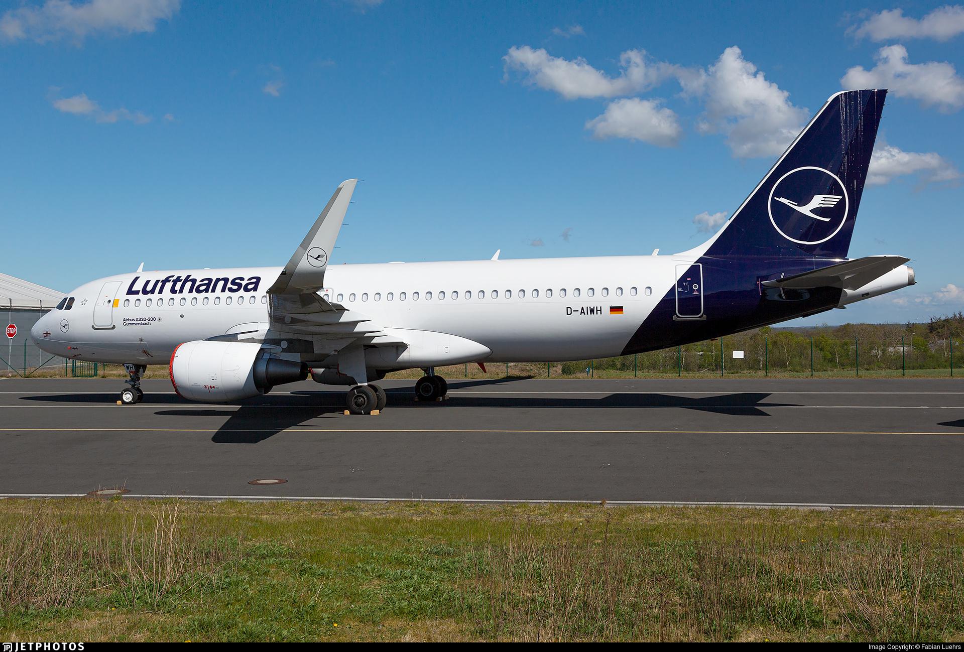 D-AIWH - Airbus A320-214 - Lufthansa