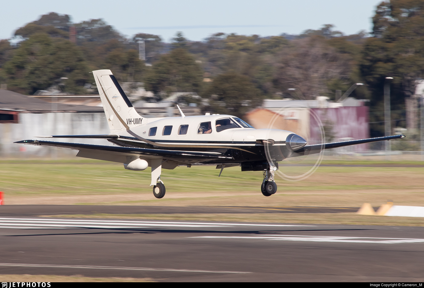 VH-UMY - Piper PA-46-500TP Malibu Meridian - Private