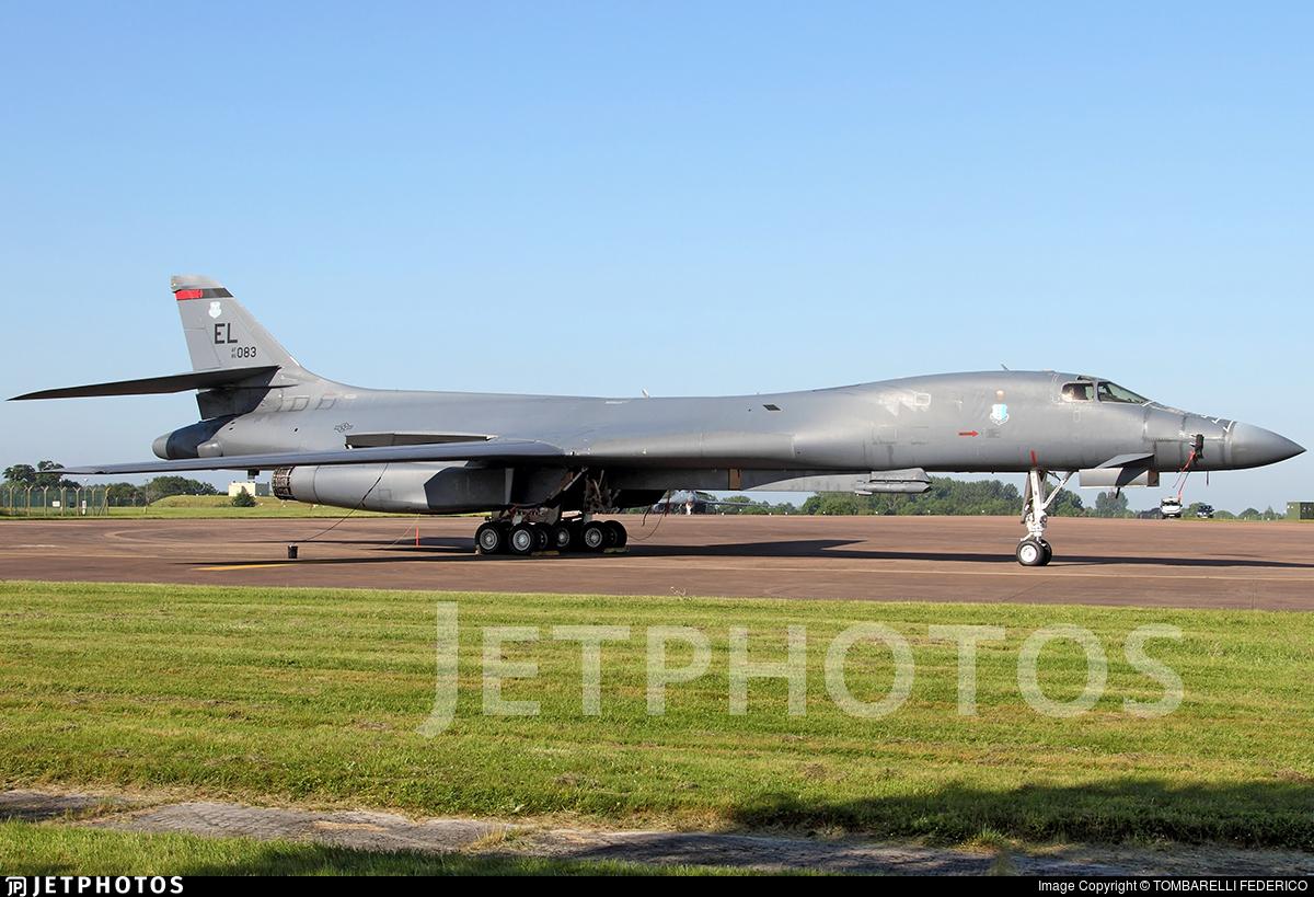 85-0083 - Rockwell B-1B Lancer - United States - US Air Force (USAF)