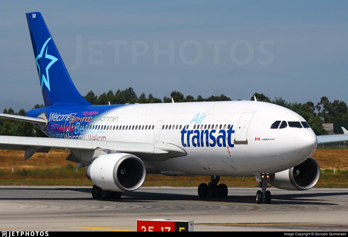 C Glat Airbus A310 308 Air Transat Goncalo Guimaraes Jetphotos