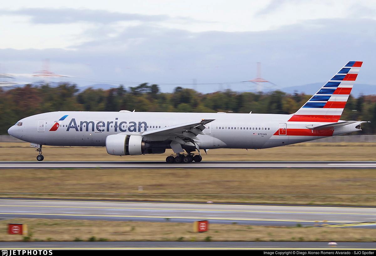 N753AN - Boeing 777-223(ER) - American Airlines