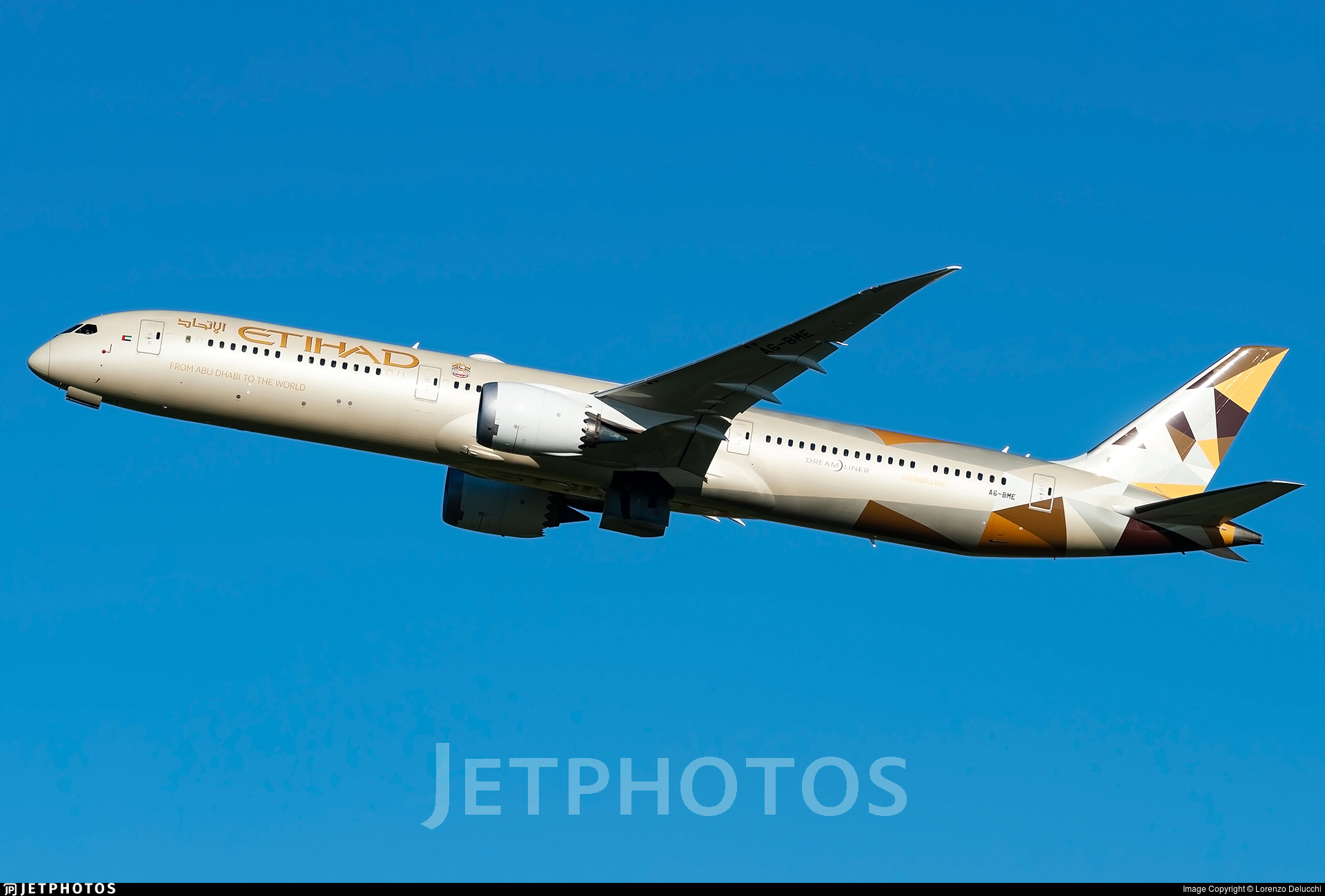 A6-BME - Boeing 787-10 Dreamliner - Etihad Airways