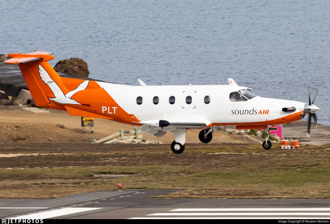 ZK-PLT - Pilatus PC-12/45 - Sounds Air