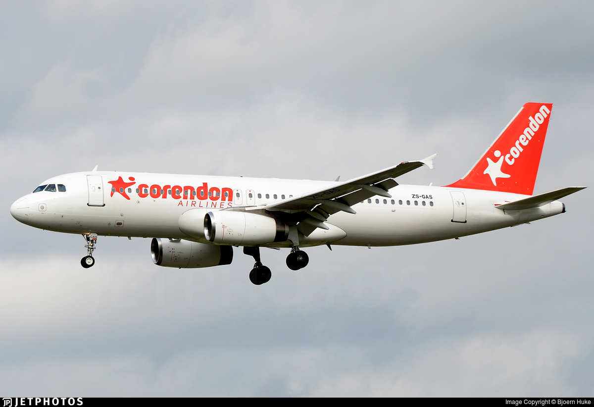 ZS-GAS - Airbus A320-231 - Corendon Airlines (Global Aviation)