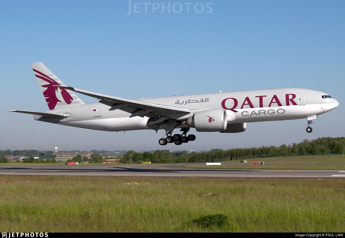 A7-BFA - Boeing 777-FDZ - Qatar Airways Cargo