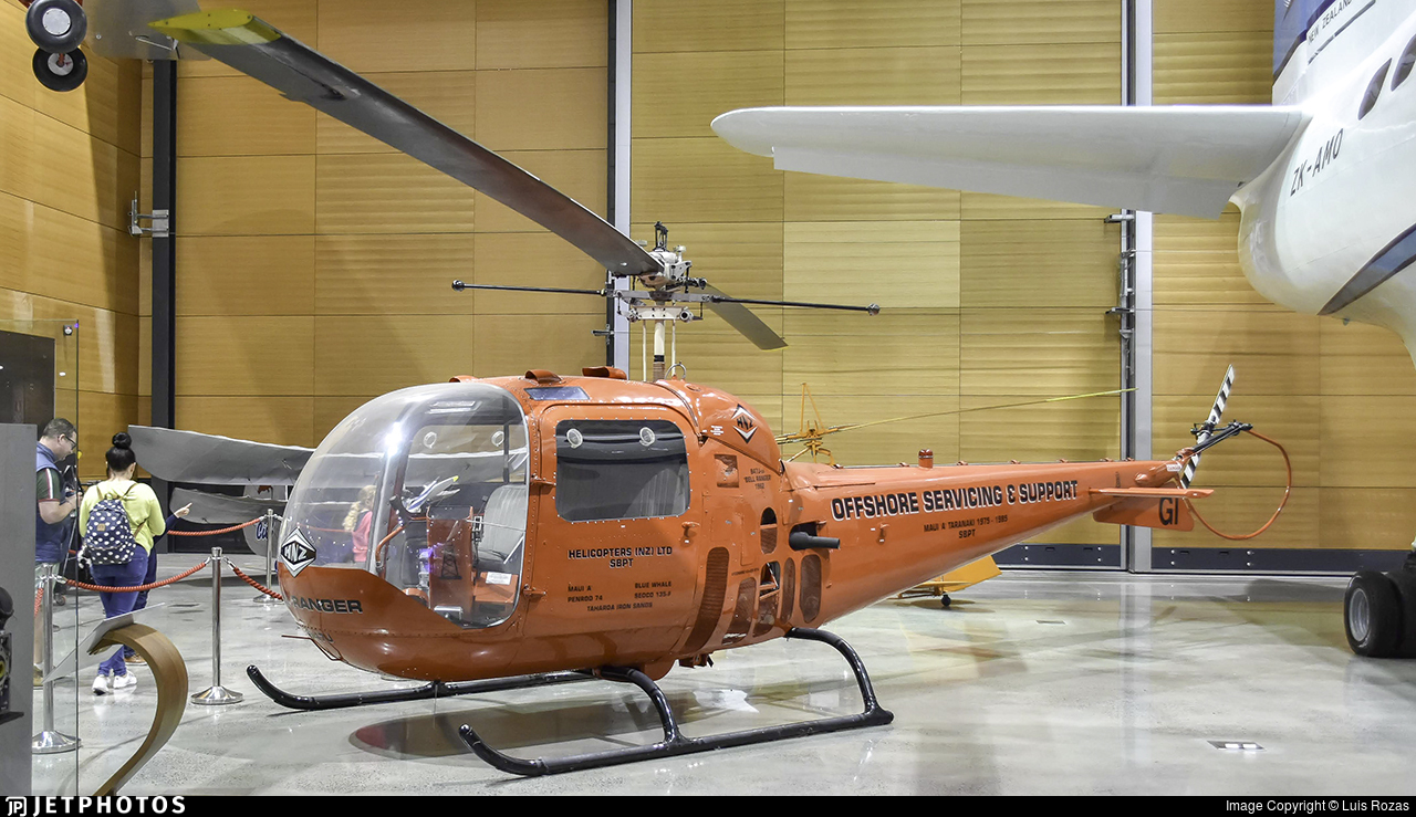 ZK-HGI - Bell 47G-2 - Private