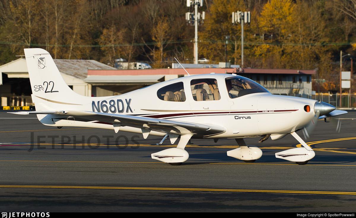 N68DX - Cirrus SR22 - Private