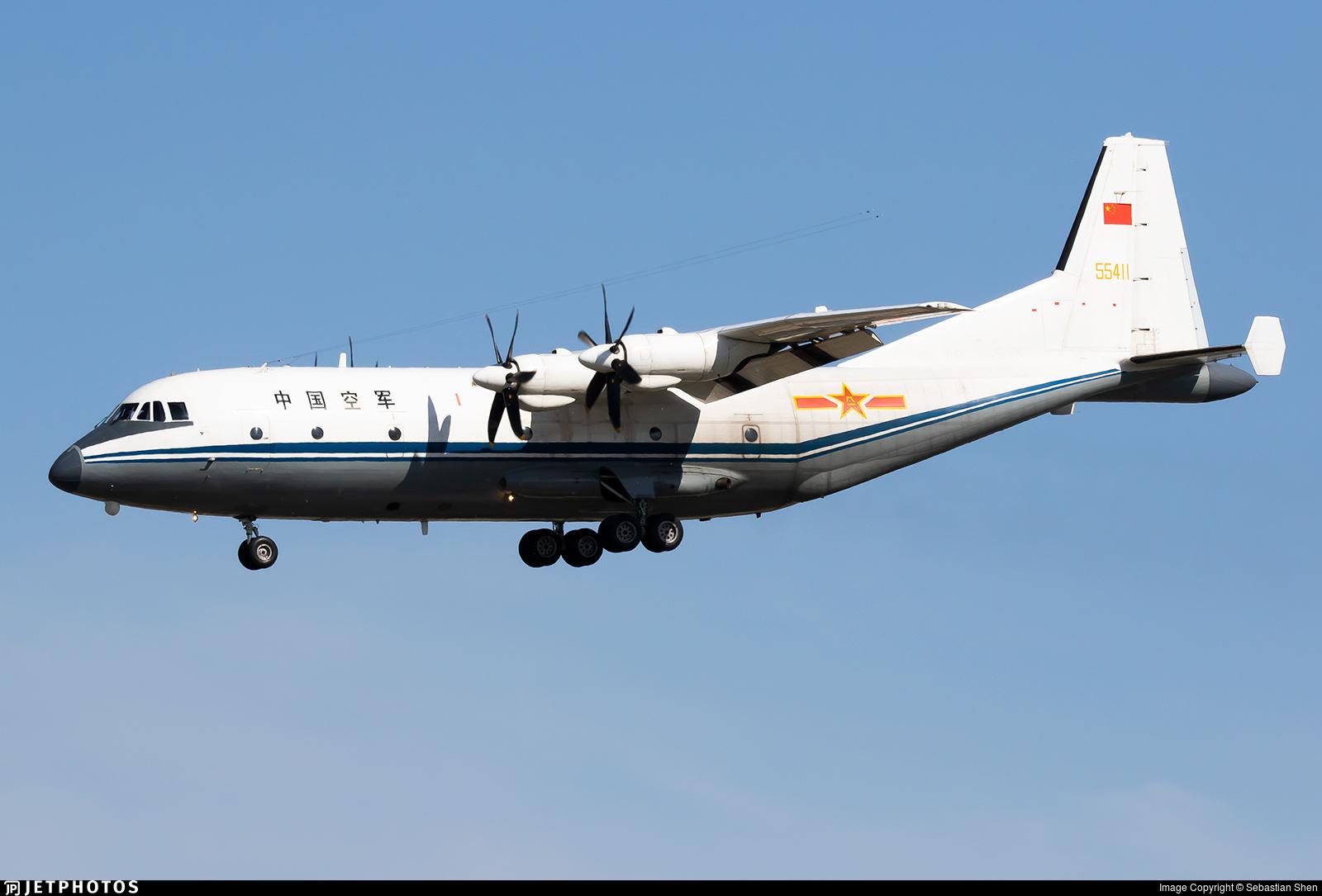 55411 - Shaanxi Y-9 - China - Air Force