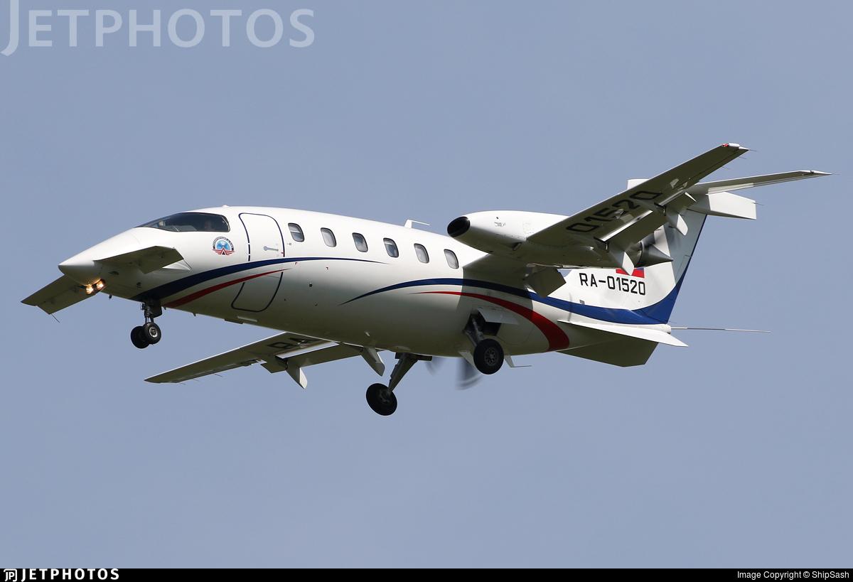 RA-01520 - Piaggio P-180 Avanti II - Russia - Flight Checks and Systems