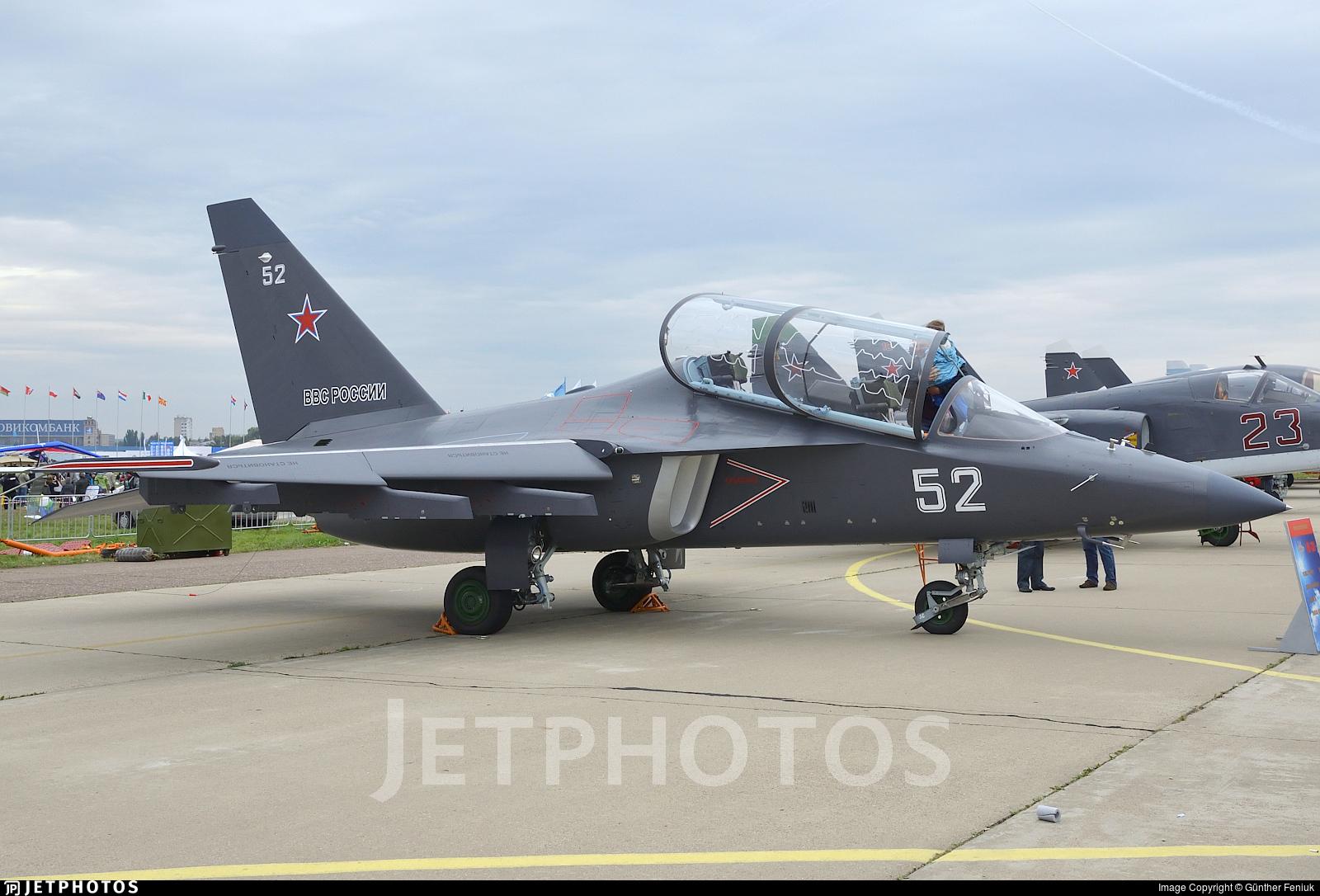 52 - Yakovlev Yak-130 - Russia - Air Force