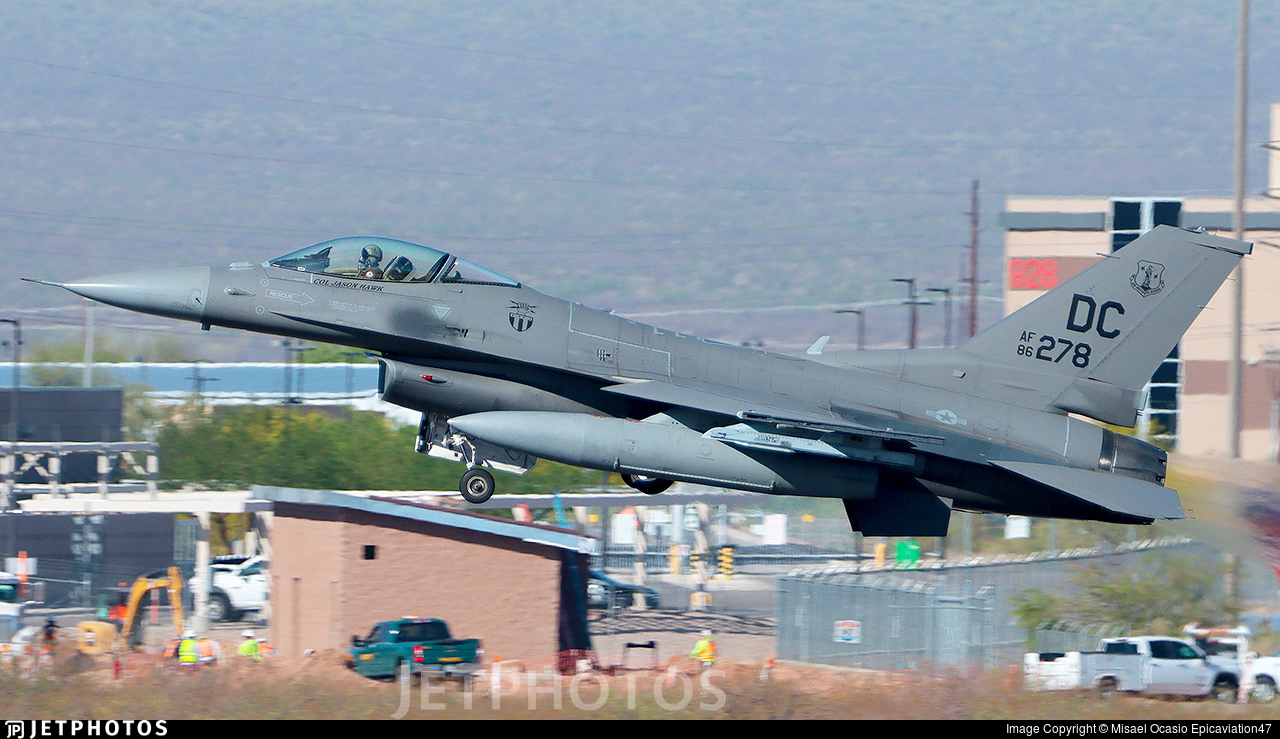 86-0278 - General Dynamics F-16C Fighting Falcon - United States - US Air Force (USAF)
