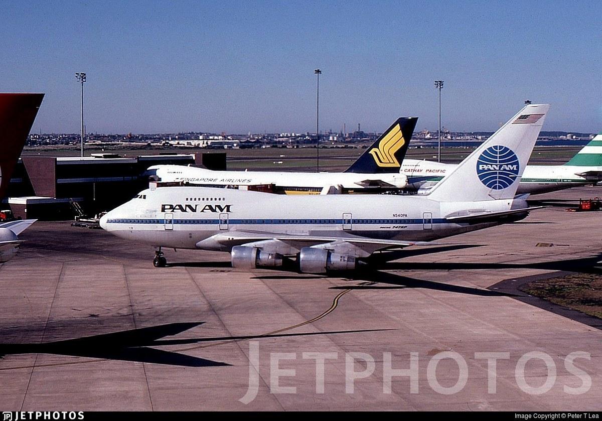 N540PA - Boeing 747SP-21 - Pan Am