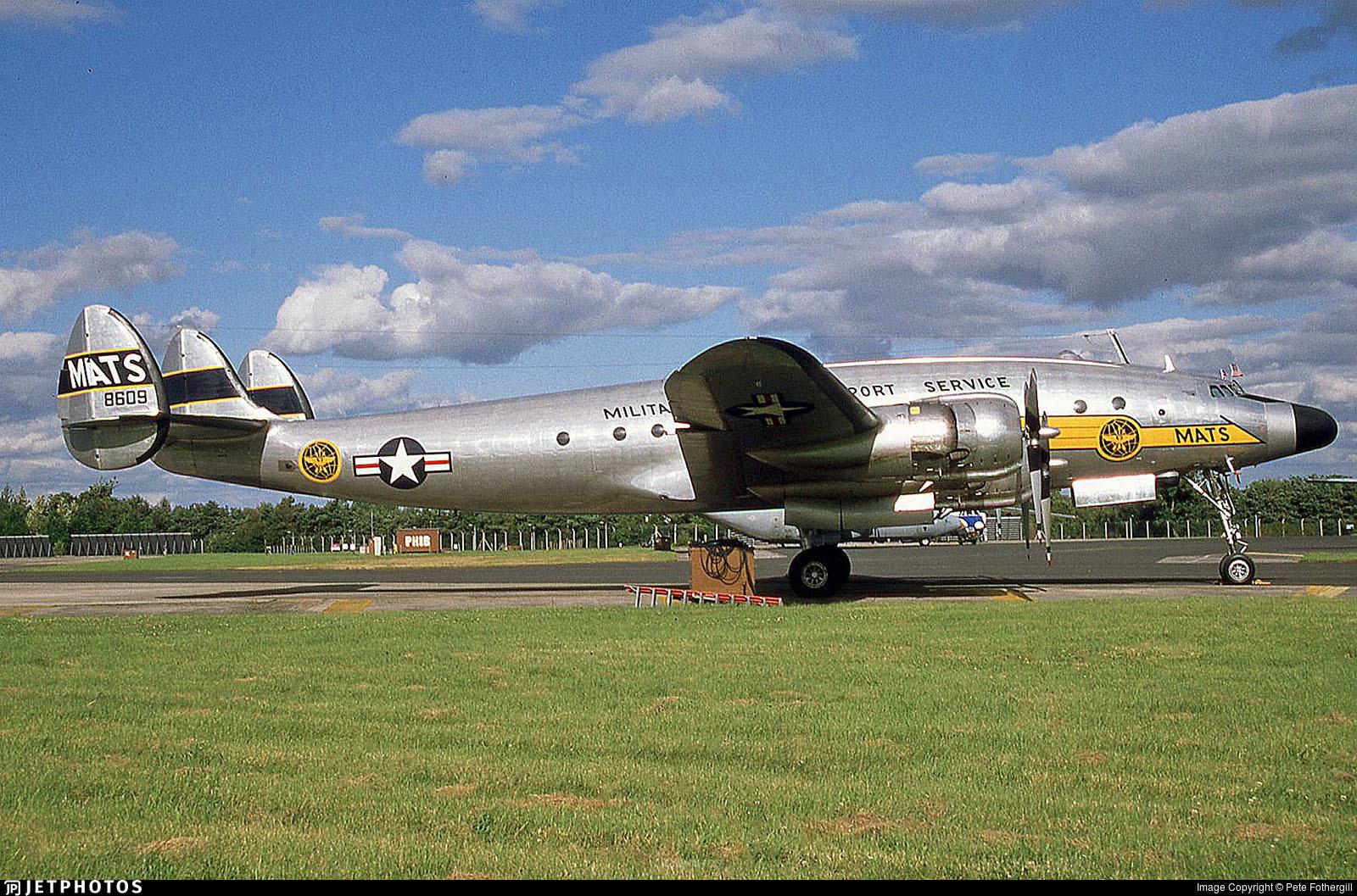 N494TW - Lockheed C-121A Constellation - Private