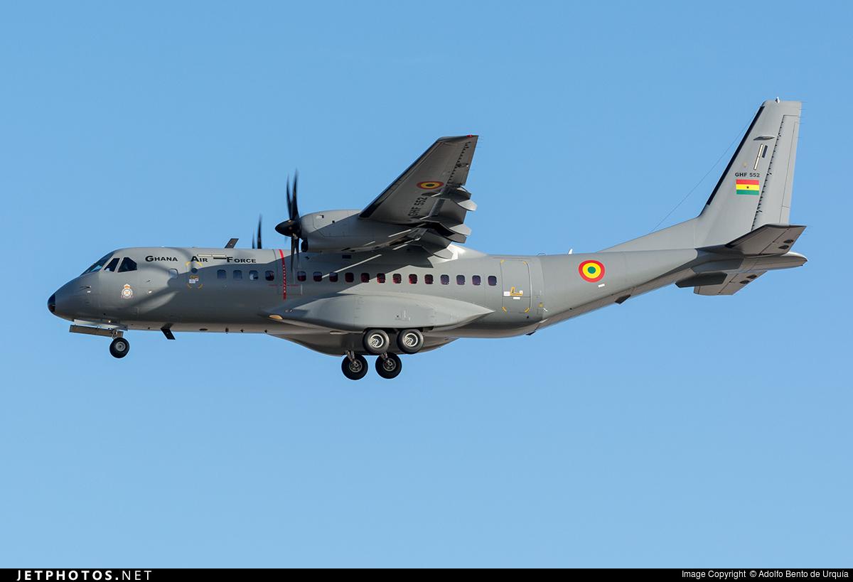 GHF552 - CASA C-295M - Ghana - Air Force