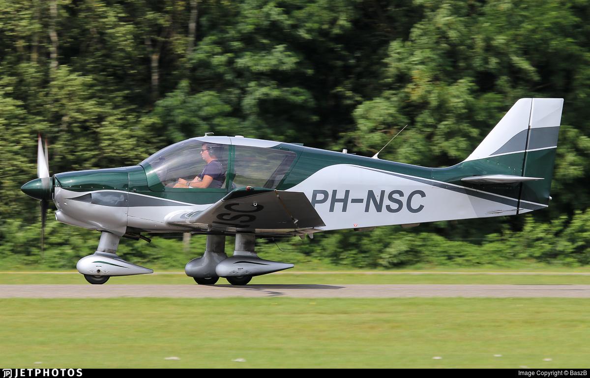 PH-NSC - Robin DR400/140B Dauphin - Vliegclub Rotterdam
