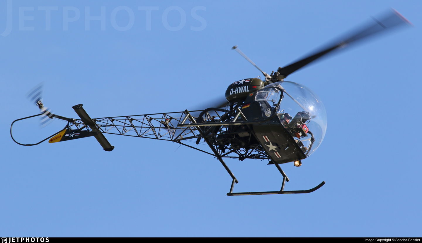 D-HWAL - Bell 47G-4 - Private