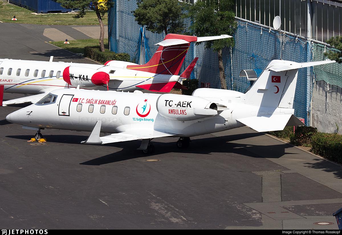 TC-AEK - Bombardier Learjet 60 - Turkey - Ministry of Health