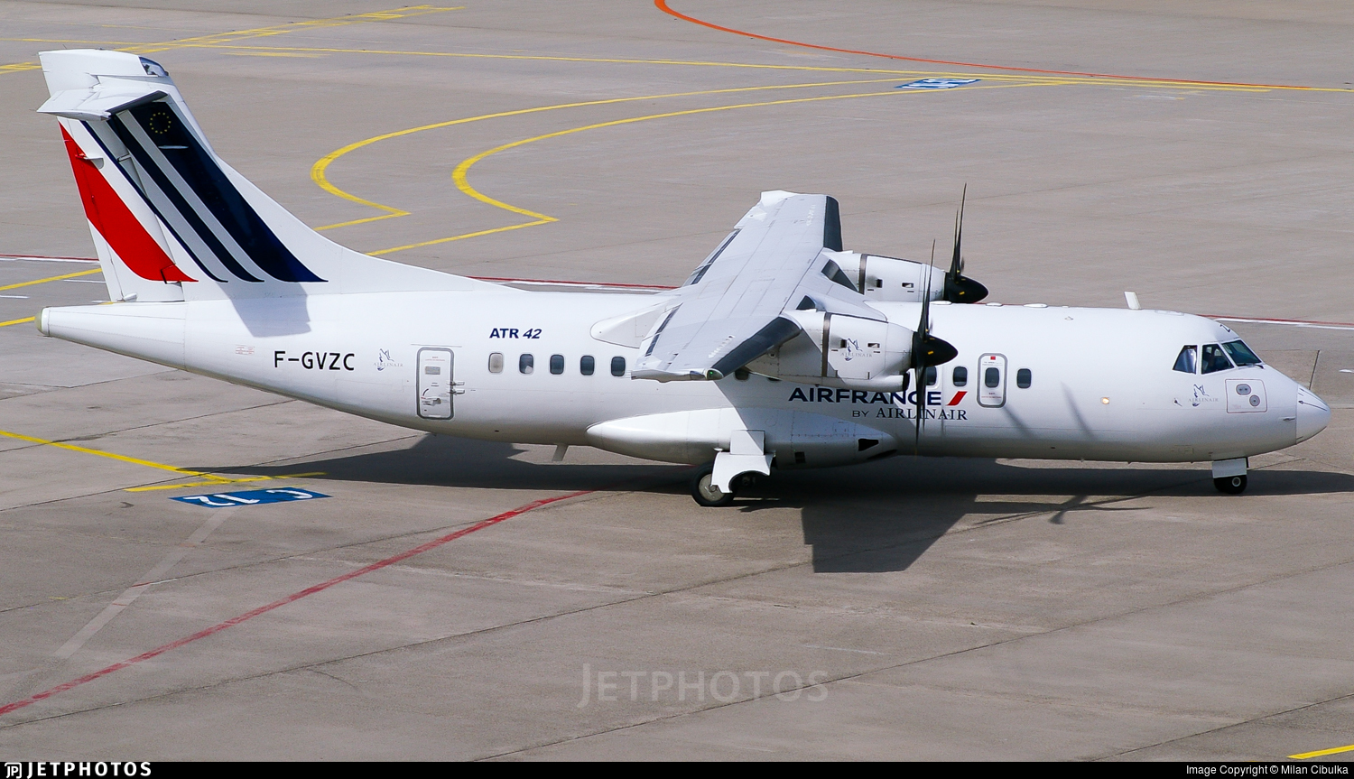 F-GVZC - ATR 42-500 - Air France (Airlinair)
