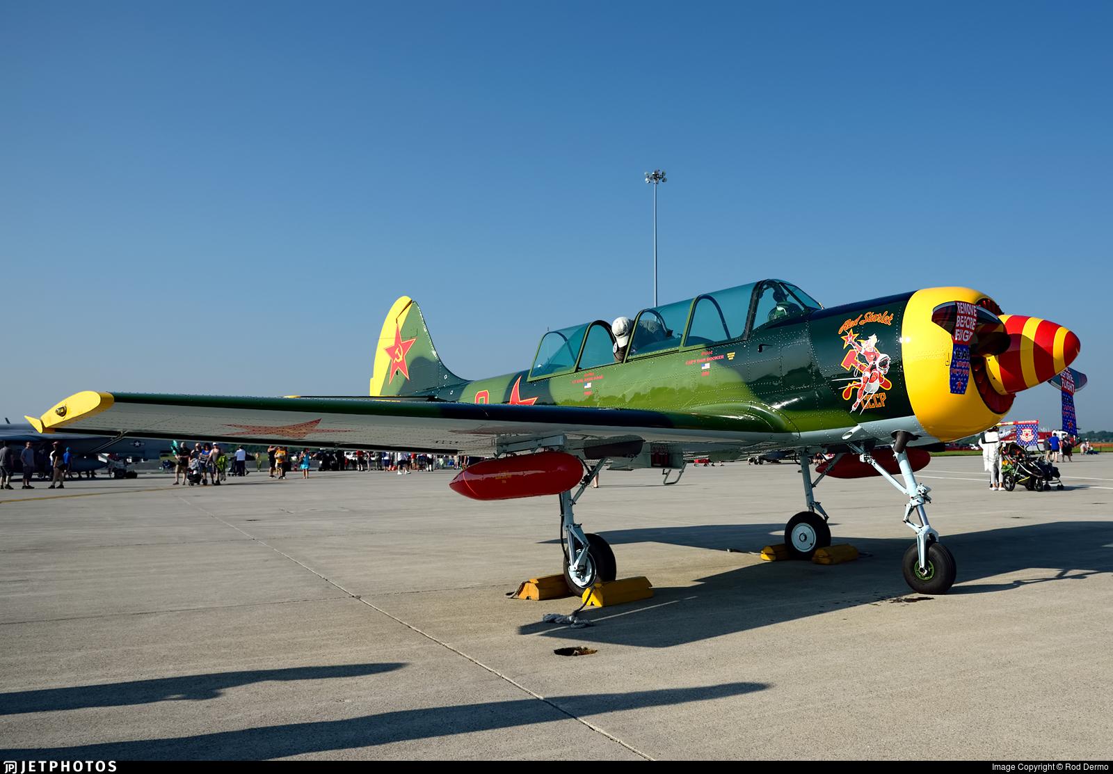 N152JB - Aerostar Yak-52 - Private