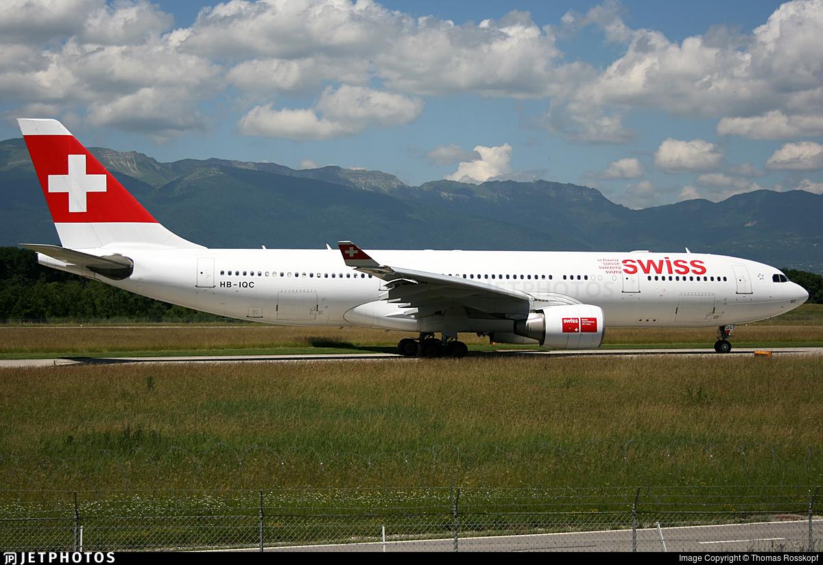 HB-IQC - Airbus A330-223 - Swiss