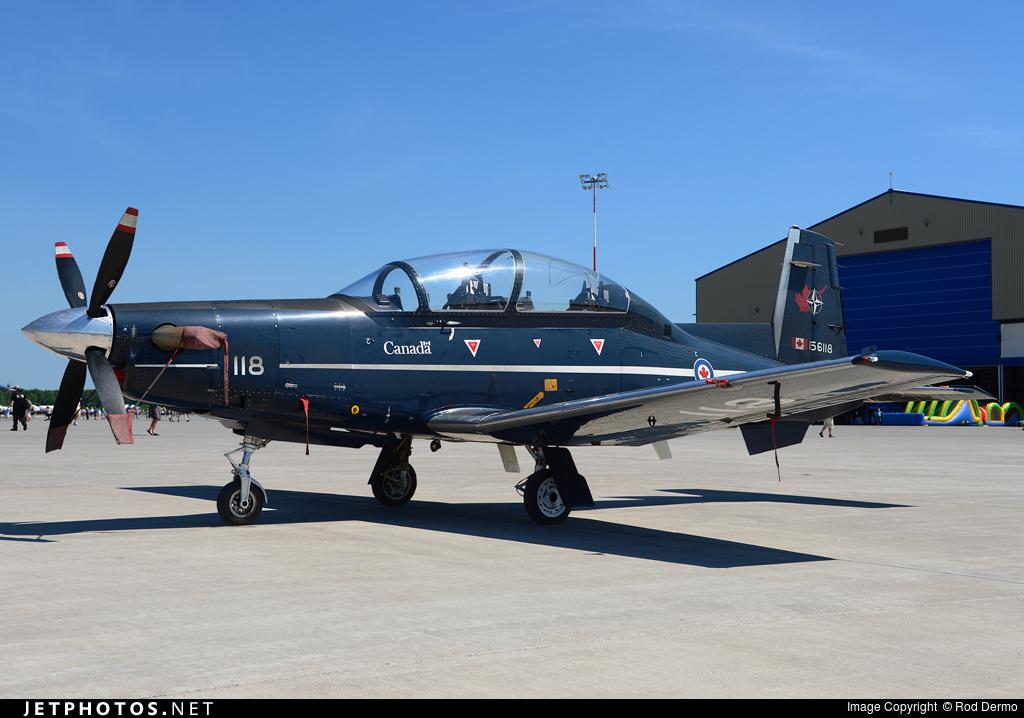 156118 - Raytheon CT-156 Harvard II - Canada - Royal Canadian Air Force (RCAF)