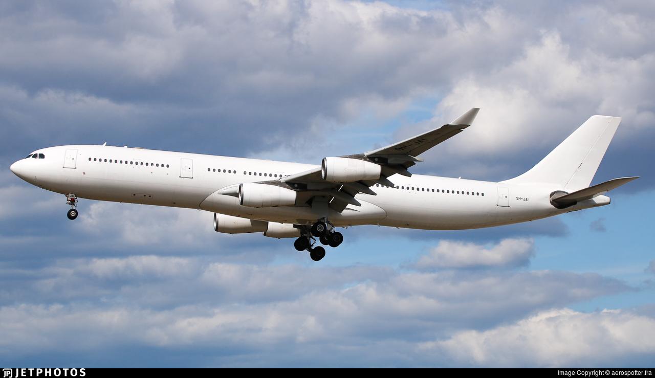 9H-JAI - Airbus A340-313X - Hifly Malta