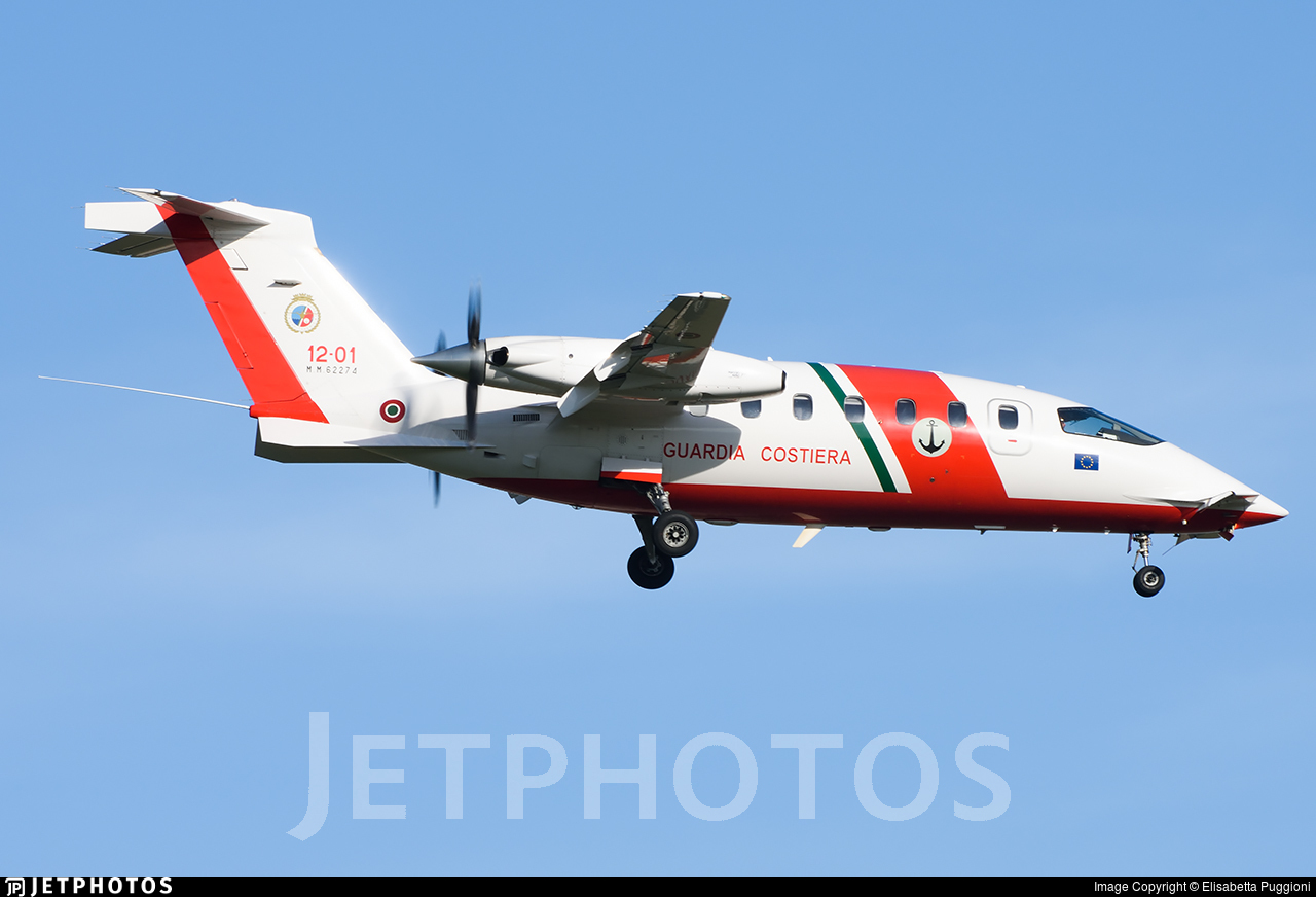 MM62274 - Piaggio P-180 Avanti II - Italy - Coast Guard
