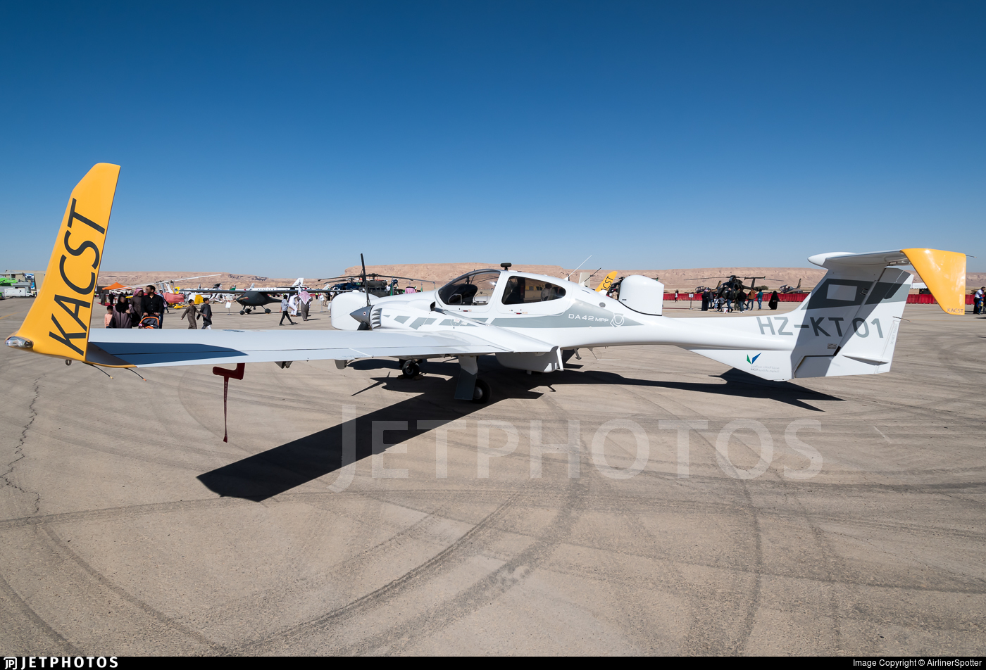 HZ-KT01 - Diamond DA-42 MPP - King Abdulaziz City of Science and Technology (KACST)