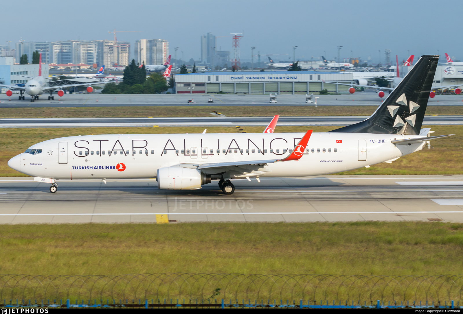 TC-JHE - Boeing 737-8F2 - Turkish Airlines